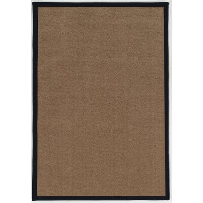 Christiano Brown Area Rug Rug Size: Rectangle 7 x 9