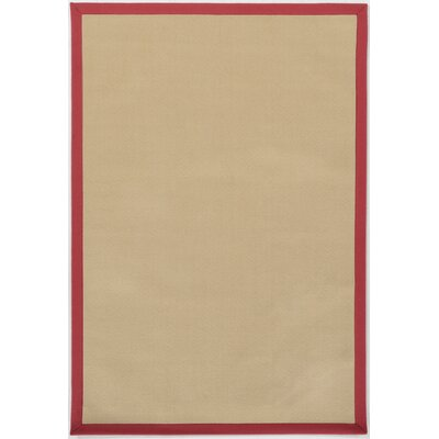 Christiano Natural Area Rug Rug Size: Rectangle 7 x 9