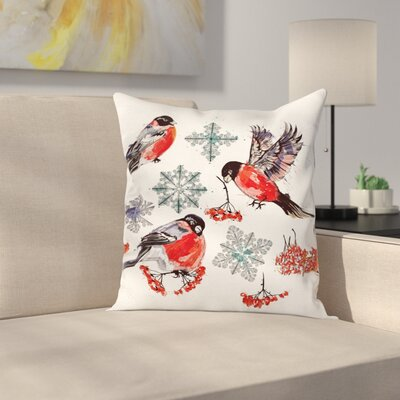 Christmas Collection Art Square Pillow Cover Size: 24 x 24