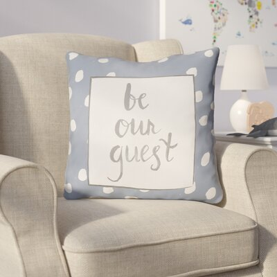 Gianna Indoor/OutdoorThrow Pillow Size: 18 H x 18 W x 4 D, Color: Blue