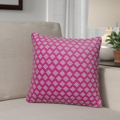 Helmetta Indoor/Outdoor Throw Pillow Size: 18 x 18