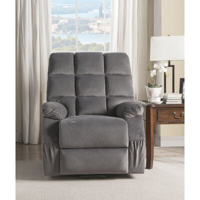 Despres Power Lift Assist Recliner Upholstery: Gray