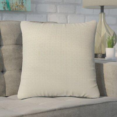 Yemanja Geometric Throw Pillow Color: Tan