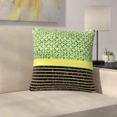 Trebam Stablo Abstract Outdoor Throw Pillow Size: 18