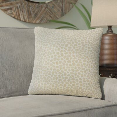 Quintin Geometric Throw Pillow Color: Ivory