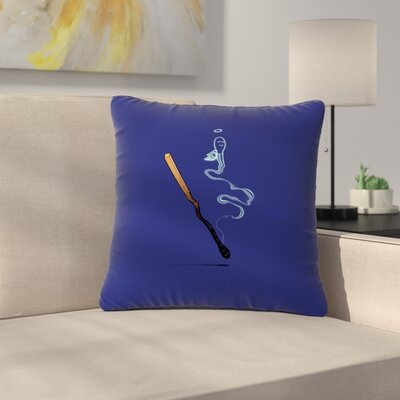 BarmalisiRTB Matches Fantasy Outdoor Throw Pillow Size: 18 H x 18 W x 5 D