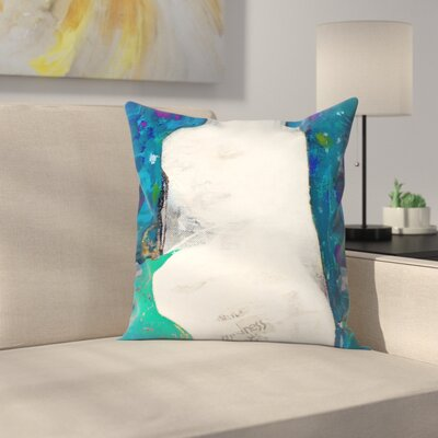 Kasi Minami Blind Throw Pillow Size: 16 x 16