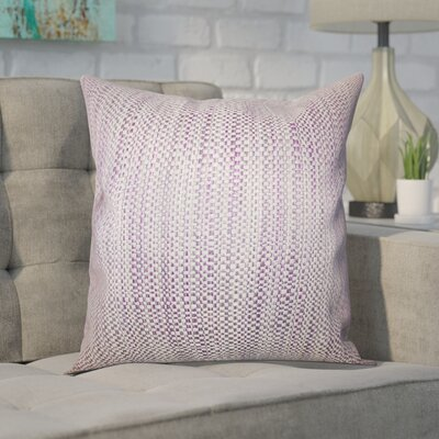 Kardos Throw Pillow Color: Purple, Size: 20 x 20