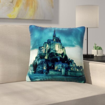 888 Design Haunted Castle Fantasy Outdoor Throw Pillow Size: 18 H x 18 W x 5 D
