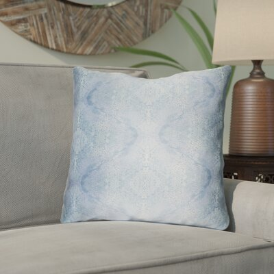 Antram Silk Throw Pillow Size: 20 H x 20 W x 4 D, Color: Blue