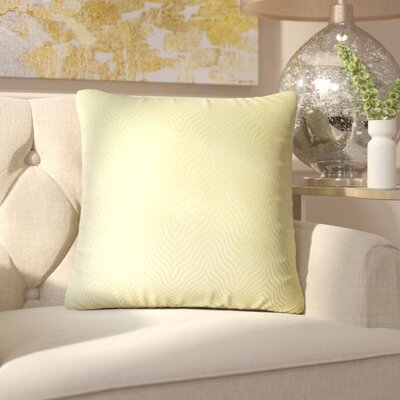 Chesterwood Solid Down Filled Throw Pillow Size: 18 x 18, Color: Green