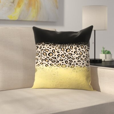 Charlotte Winter Wilder Throw Pillow Size: 14 x 14