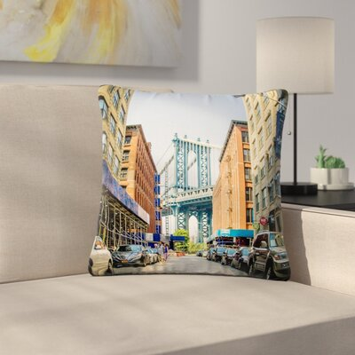 Juan Paolo Dumbo Urban Photography Outdoor Throw Pillow Size: 16 H x 16 W x 5 D