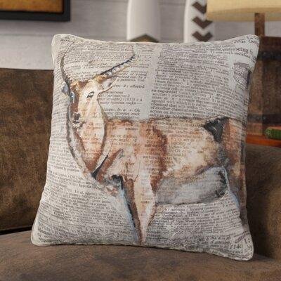 Senesca Decorative 100% Cotton Throw Pillow