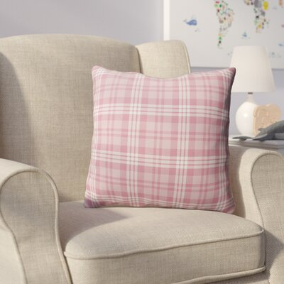 Ridgeley Plaid Indoor/Outdoor Throw Pillow Size: 18 H x 18 W x 4 D