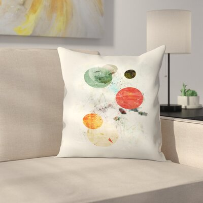 To the Moon and Back Throw Pillow Size: 18 x 18