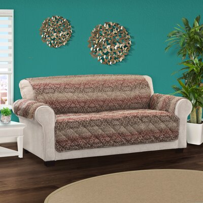 Protector Box Cushion Sofa Slipcover Size: 0.25 H x 120 W x 75.5 D