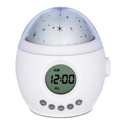 Galaxy Clock Star Projector Night Light