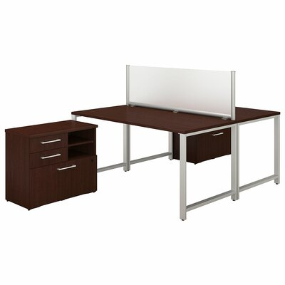 Person Workstation Desk Office Suite Series Product Image 512