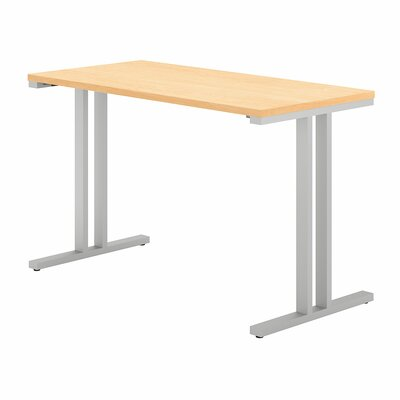 400 Series Training Table Tabletop Finish: Natural Maple, Size: 29.8 H x 47.6 W x 23.35 D