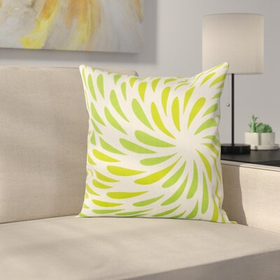 Cherelle Pillow Cover Size: 20 H x 20 W x 0.25 D, Color: Green