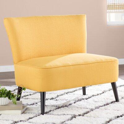 Cureton Standard Settee Upholstery: Mustard Yellow