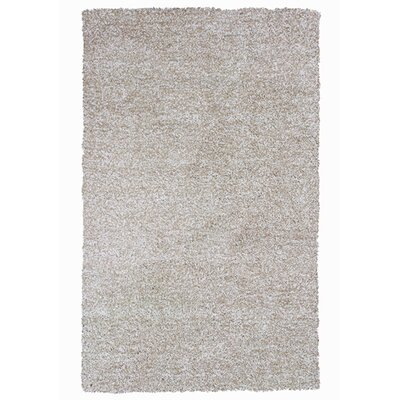 Foran Hand-Woven Heather Shag Ivory Area Rug Rug Size: Rectangle 8 x 11