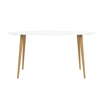 Mateer Dining Table Base Color: Natural
