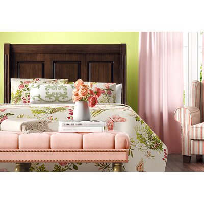 Hewitt Wood Headboard Size: Queen, Color: French Cherry