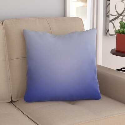 Digna Indoor Throw Pillow Size: 18 H x 18 W x 4 D, Color: Dark Blue