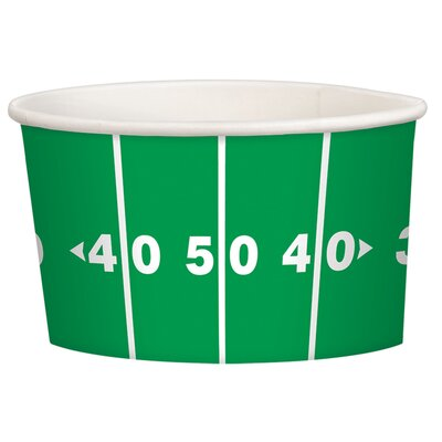 Football Treat 9.5 oz. Paper Cup 439736