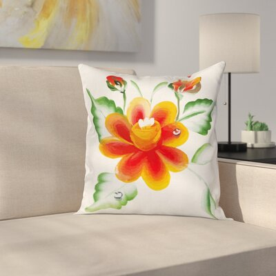 Daffodils Pillow Cover Size: 24 x 24