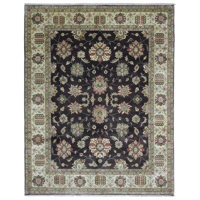 One-of-a-Kind Loudon Tabriz Oriental Hand-Woven Wool Beige/Brown Area Rug
