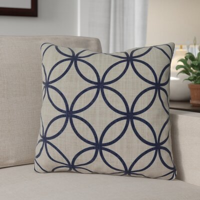Muriel Throw Pillow Color: Blue