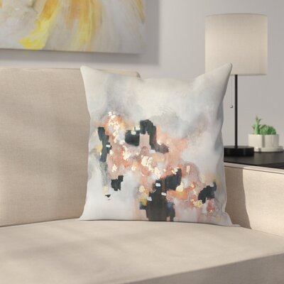 Christine Olmstead Just Peachy Throw Pillow Size: 14 x 14