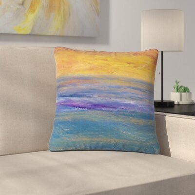 Cyndi Steen Sky on Fire Outdoor Throw Pillow Size: 18 H x 18 W x 5 D