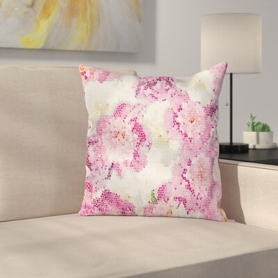 Floral Pixie Pillow Cover Size: 18 x 18