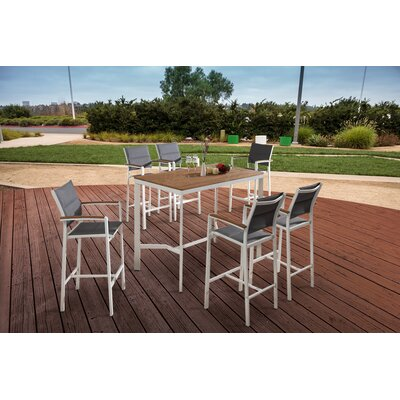 Gorham 7 Piece Pub Table Set