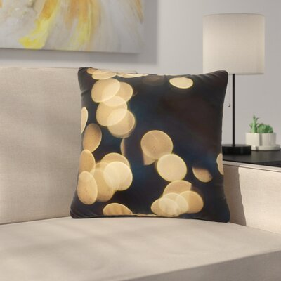 Cristina Mitchell Blur Lights Outdoor Throw Pillow Size: 16 H x 16 W x 5 D