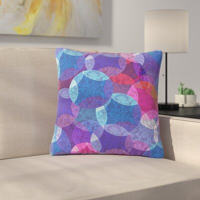 Fernanda Sternieri Mandala Abstract Outdoor Throw Pillow Size: 18 H x 18 W x 5 D