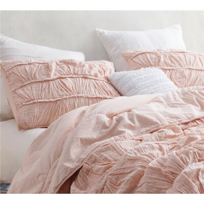 Bourland Texture Sham Color: Pink