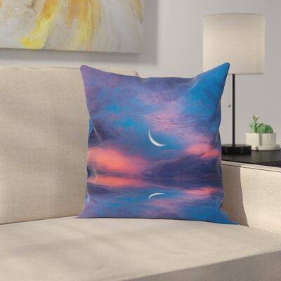 Nautical Reflections on Water Square Pillow Cover Size: 16 x 16