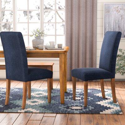 Torkelson Denim Dining Side Chair Upholstery: Denim Slate