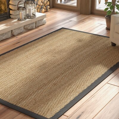 Felisha Natural Area Rug Rug Size: Rectangle 8 x 10