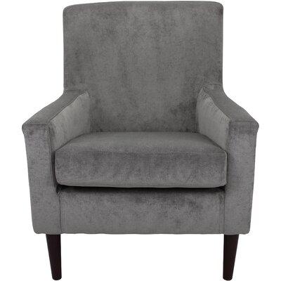 Donham Armchair Upholstery: Platinum Silver