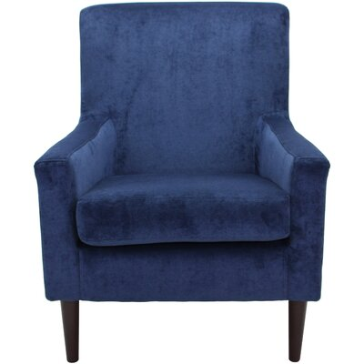 Donham Armchair Upholstery: Royal Blue