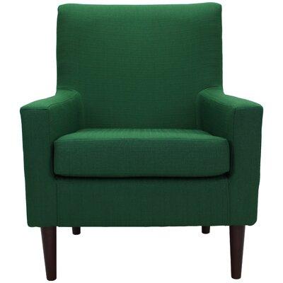 Donham Armchair Upholstery: Emerald Green