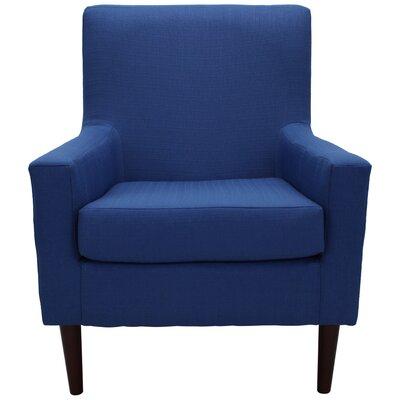 Donham Armchair Upholstery: Marine Blue