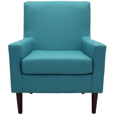 Donham Armchair Upholstery: Teal Blue