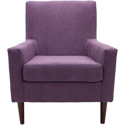 Donham Armchair Upholstery: Eggplant